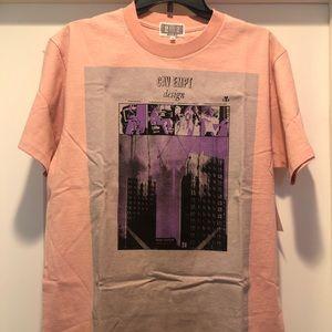 Cav Empt graphic T-shirt (salmon colored)